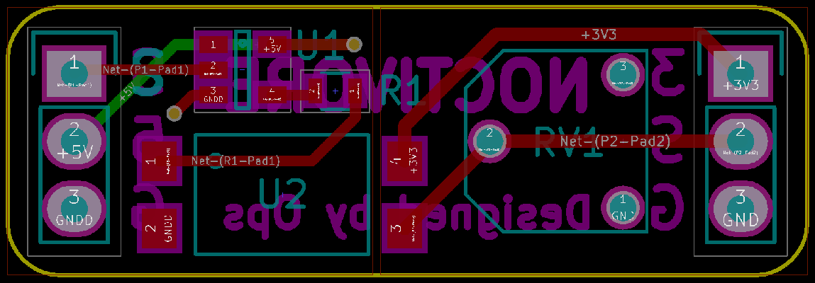 PWM Isolator Test Board Layout